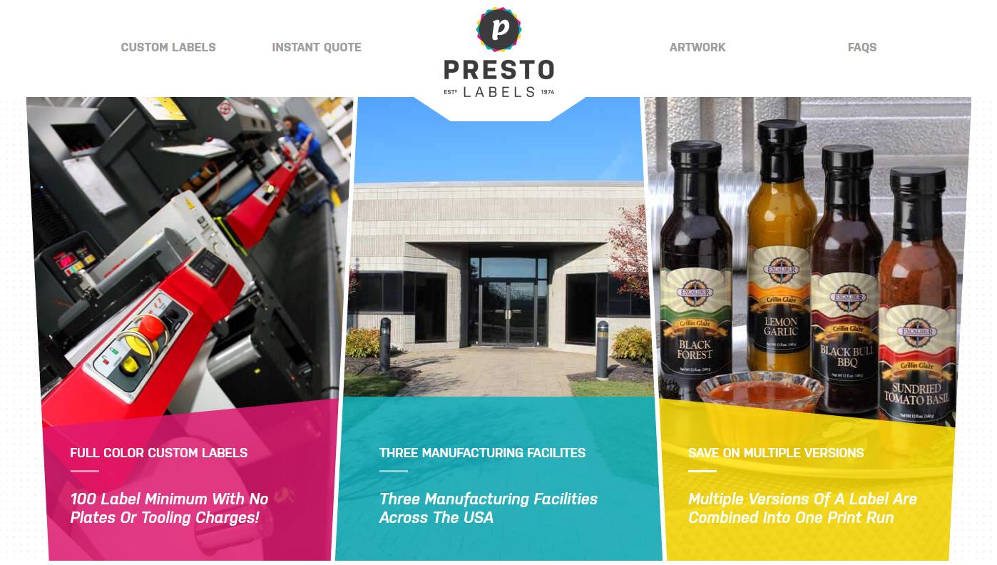 Home Presto Labels Custom Digital Laser Cut Product Labels